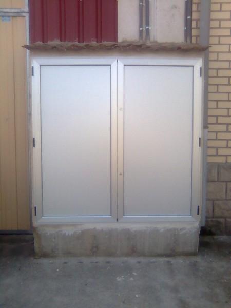 Armarios de aluminio aluminos ernesto for Armario exterior